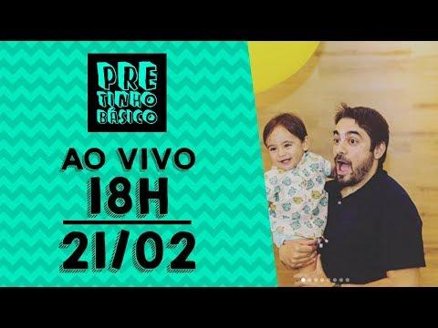 PBzinho + Pretinho Básico das 18 horas AO VIVO - 21/02