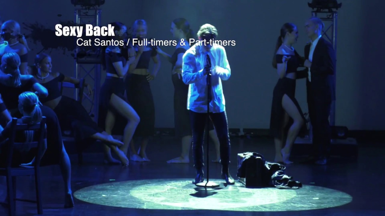 Sexy Back - Chore Cat Santos - Full timers & Part timers - Dance Force Grad 2016