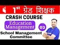 10:00 PM - 1st Grade Teacher   Education Management by Rajendra Sir   School Management Committee