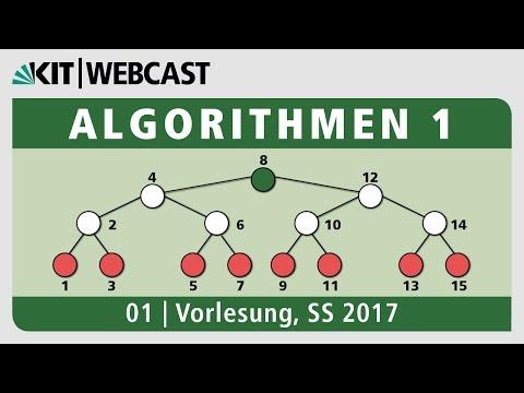 01: Algorithmen 1, Vorlesung, SS 2017