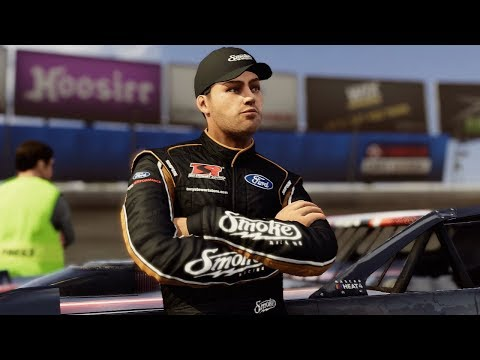 Nascar Heat 4 - Eldora Speedway Dirt Track w/ Tony Stewart! (Brandt Professional Agriculture 100)