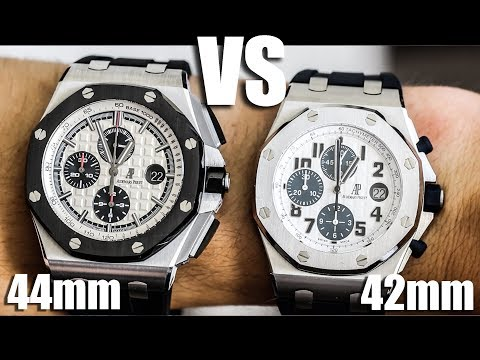 Audemars Piguet Royal Oak Offshore 42mm vs 44mm