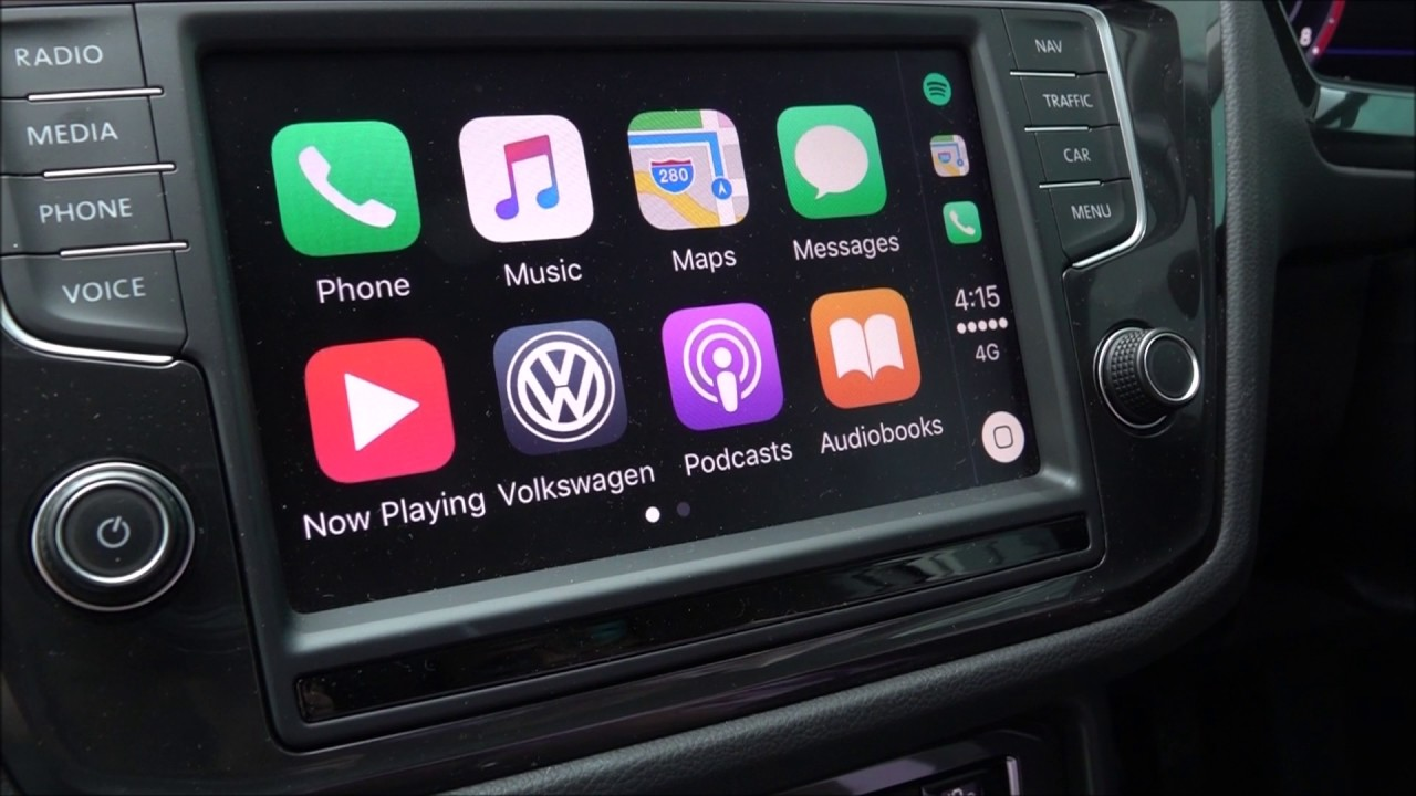 2017 volkswagen tiguan phone app connect guide youtube