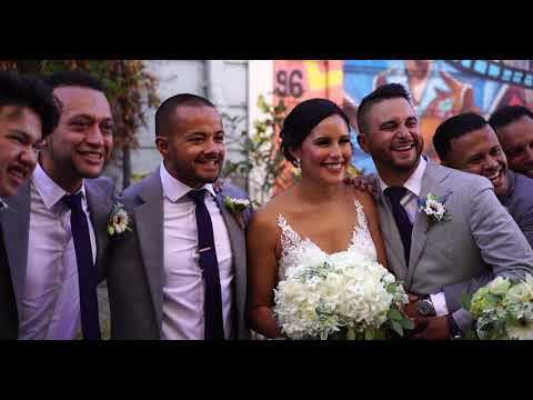 Jackie and Josephs Wedding: Photo Session Balmy Alley San Francisco - Duration: 4:06.