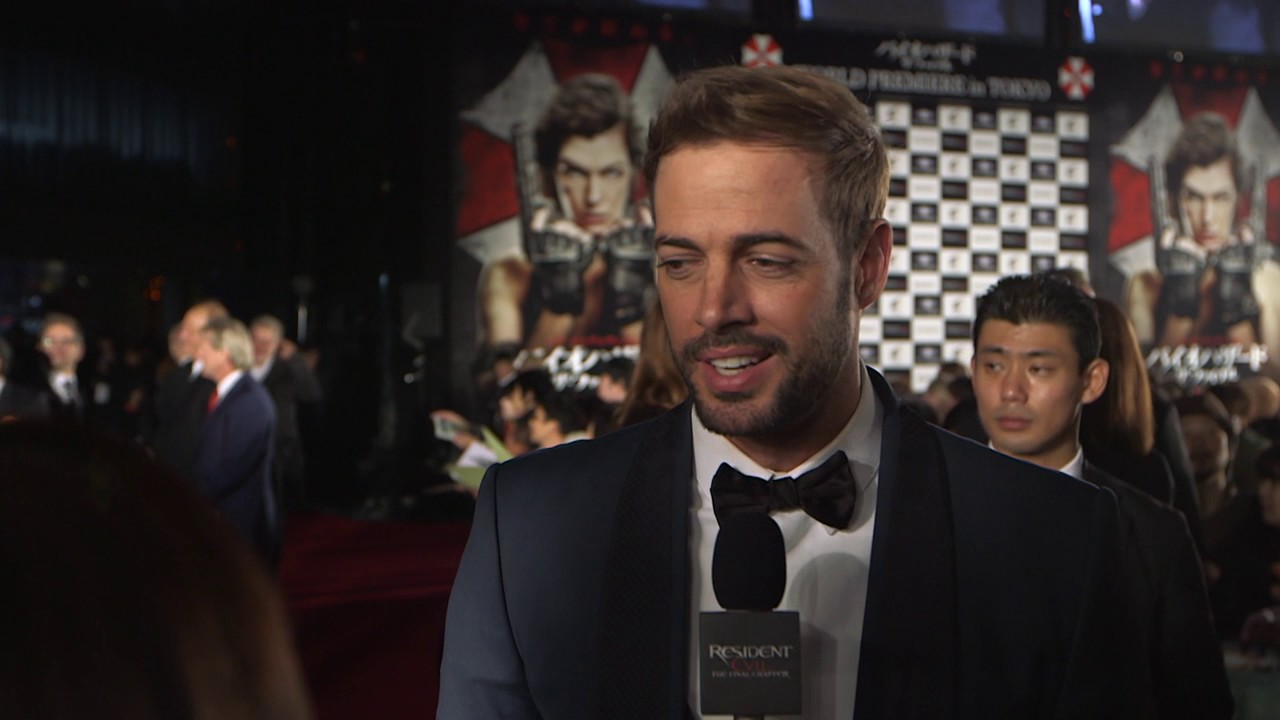 Resident Evil The Final Chapter Premiere In: WILLIAM LEVY Interview Tokyo Premiere Resident Evil The
