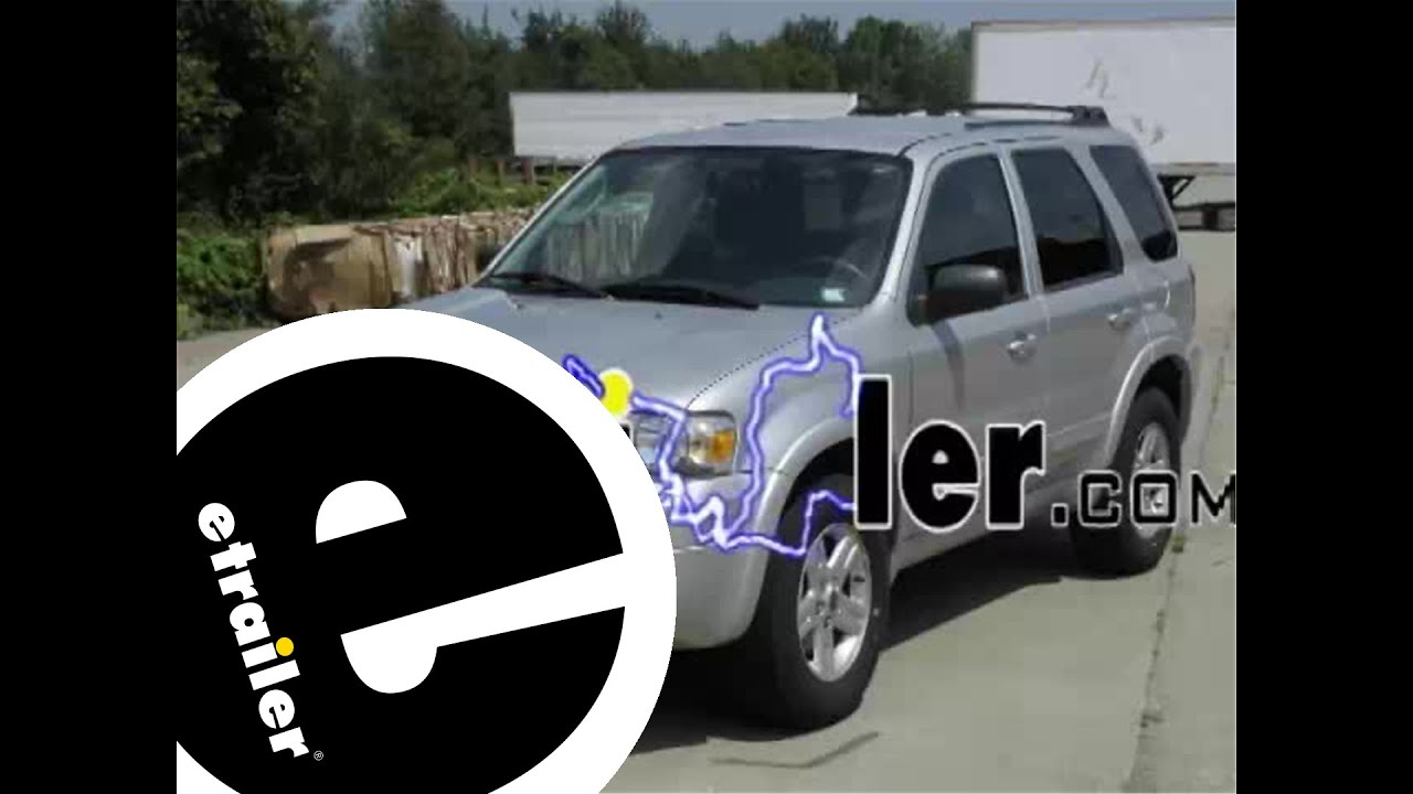 hight resolution of trailer wiring harness installation 2006 ford escape hybrid etrailer com