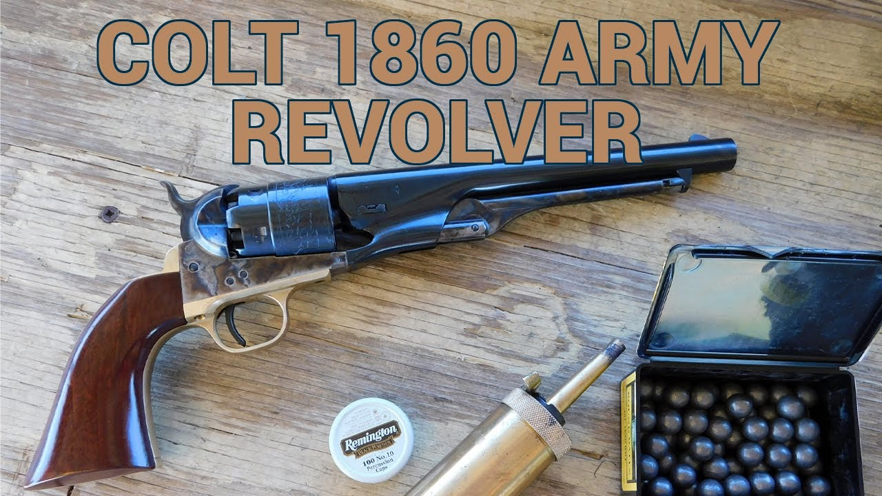 7cc7897102c Colt 1860 Army Revolver Review - YouTube