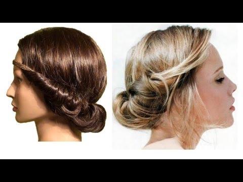 Peinado Bohemio Super Facil Recogido Para Cabello Mediano Youtube