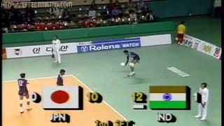 JIMMY GEORGE(10)ABDUL BASITH(5)INDIA- SEOUL ASIAN GAMES 1986