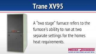 Trane XV95 Two Stage Variable Speed Furnace