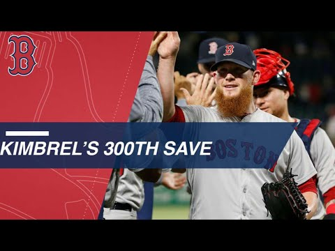 Craig Kimbrel fastest to 300 saves in Red Sox win