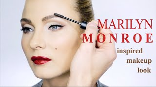 MARILYN MONROE INSPIRED MAKEUP LOOK I MAKEUP BY BORIS