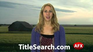 Property title records in Marion County Kansas | AFX