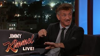Sean Penn on Haiti & First Child's Birth