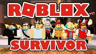 Roblox Survivor - Who Will Be the Last One?! - Group Collaboration with Some Lemons :)
