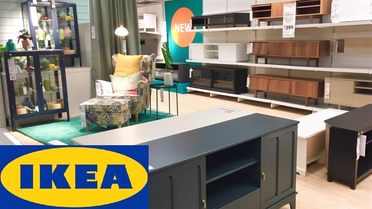 Ikea Home Furniture Storage Organization Coffee Tables Decor Shop With Me Shopping Store Walkthrough Youtube