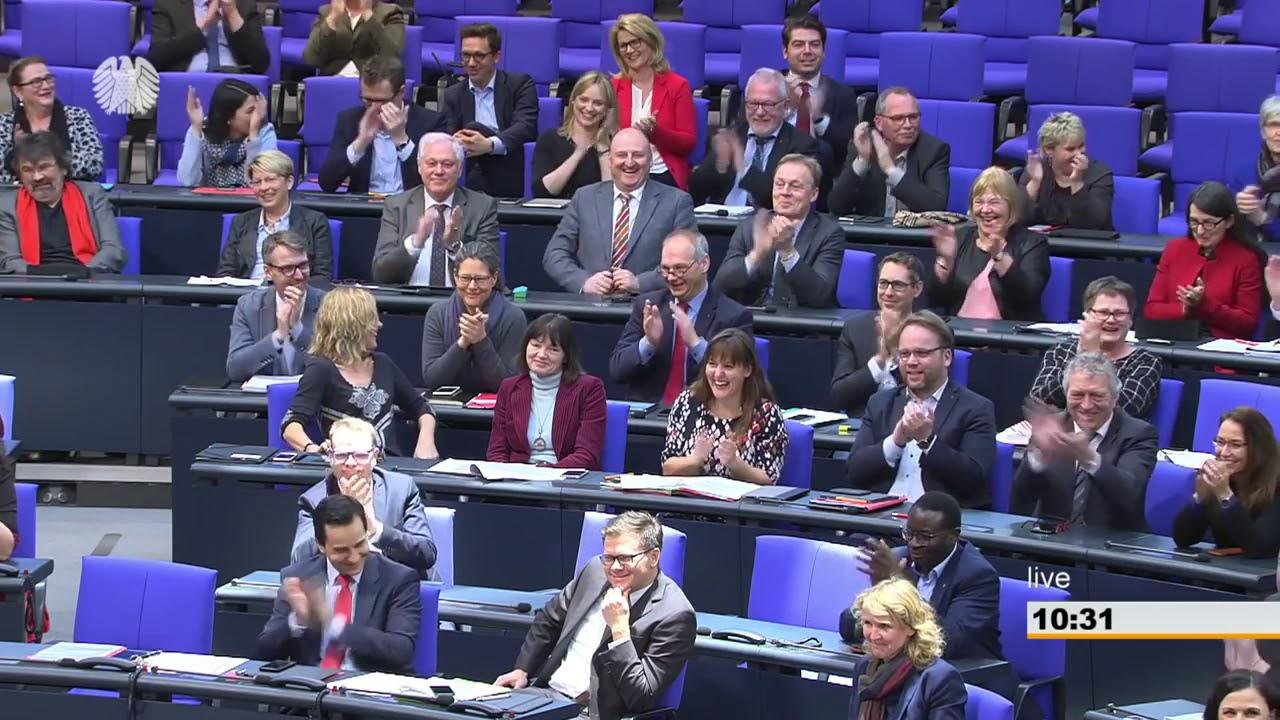Bundestag, Antwort Johann Saathoff SPD zum AfD Antrag Deutsch als Landessprache