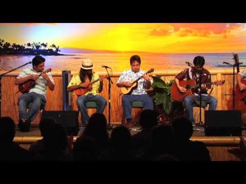 """Europa"" @SlackKeyShow Herb Ohta Jr Jon YamasatoSlack Key Show Jam session"