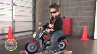 Boys Harley Davidson Toy Motorbike Motorcycle Minimoto Rocker Video By Kidkraft