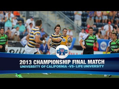 2013 Collegiate Rugby Championship Final - Cal vs. Life University