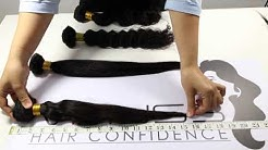 How to Measure Virgin Hair Extensions Length