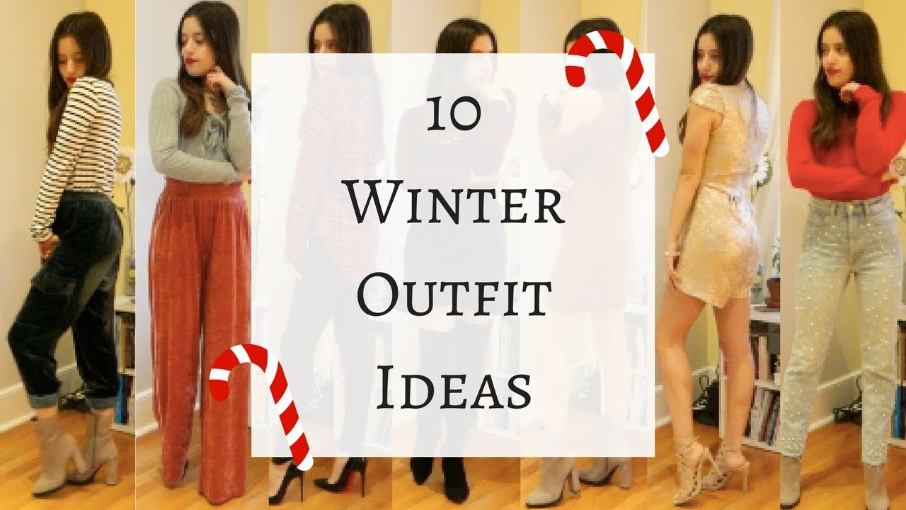 10 Winter Holiday Outfit Ideas: Casual + Fancy | Gabi 8