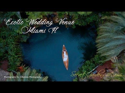 THE SECRET GARDEN MIAMI WEDDING VENUE PROMO DBATISTA PHOTOGRAPHY