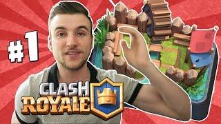 [ Clash Royale ] MON NOUVEAU LET'S PLAY !! Première Épique ! thumbnail