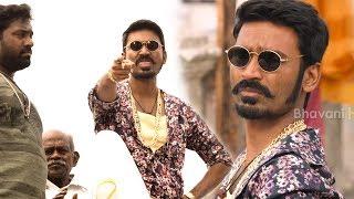 Dhanush Mass Scenes | Maari (Maas) Best Scenes Of Dhanush | Latest Telugu Movie Scenes
