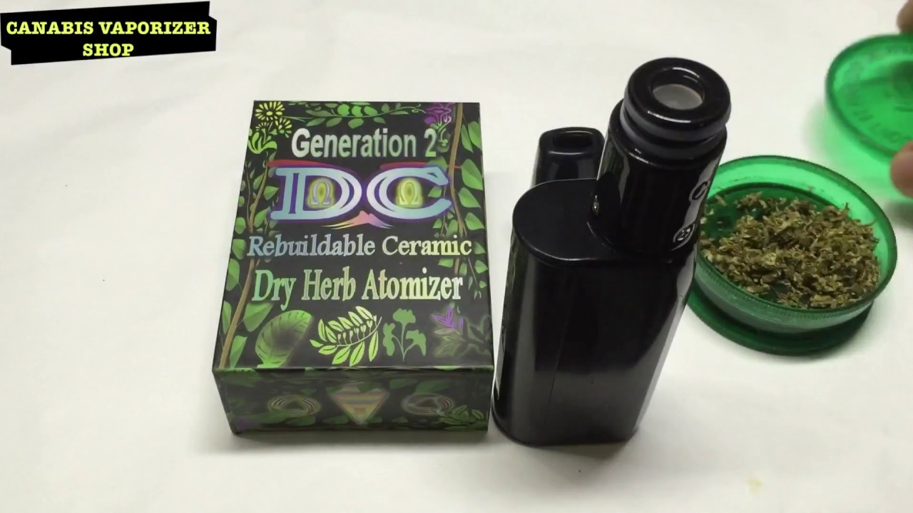 Atomizer DC Generation 2 Dry Herb - Atomizer Hoá Hơi Thảo Mộc