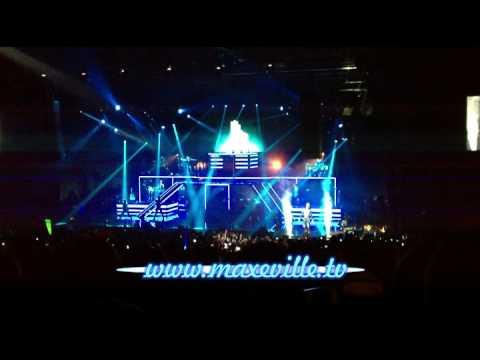 M pokora concert