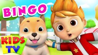 Bingo | Kids Tv Baby Songs | Bingo Dog Song | Nursery Rhymes | Dog Song