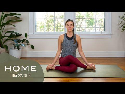 Home - Day 22 - Stir | 30 Days of Yoga With Adriene