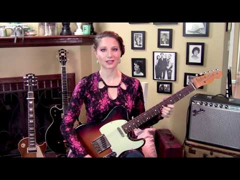 The Pixies-Here Comes Your Man-Guitar Lesson-Allison Bennett