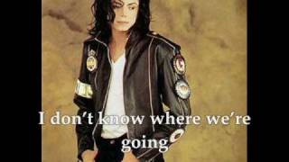 Michael Jackson Don't Walk Away with Lyrics