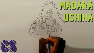 Naruto - Drawing Madara Uchiha