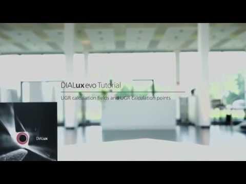 #17 DIALux evo tutorial UGR calculation