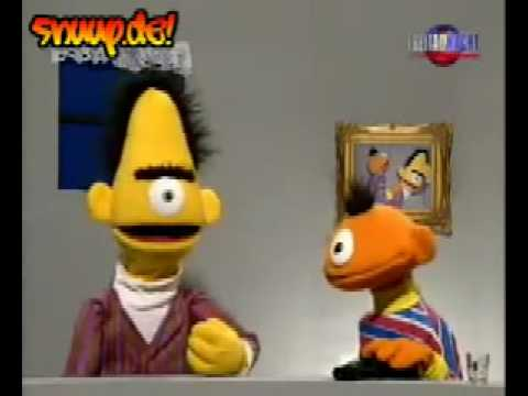 ernie und bert selbstmord youtube. Black Bedroom Furniture Sets. Home Design Ideas
