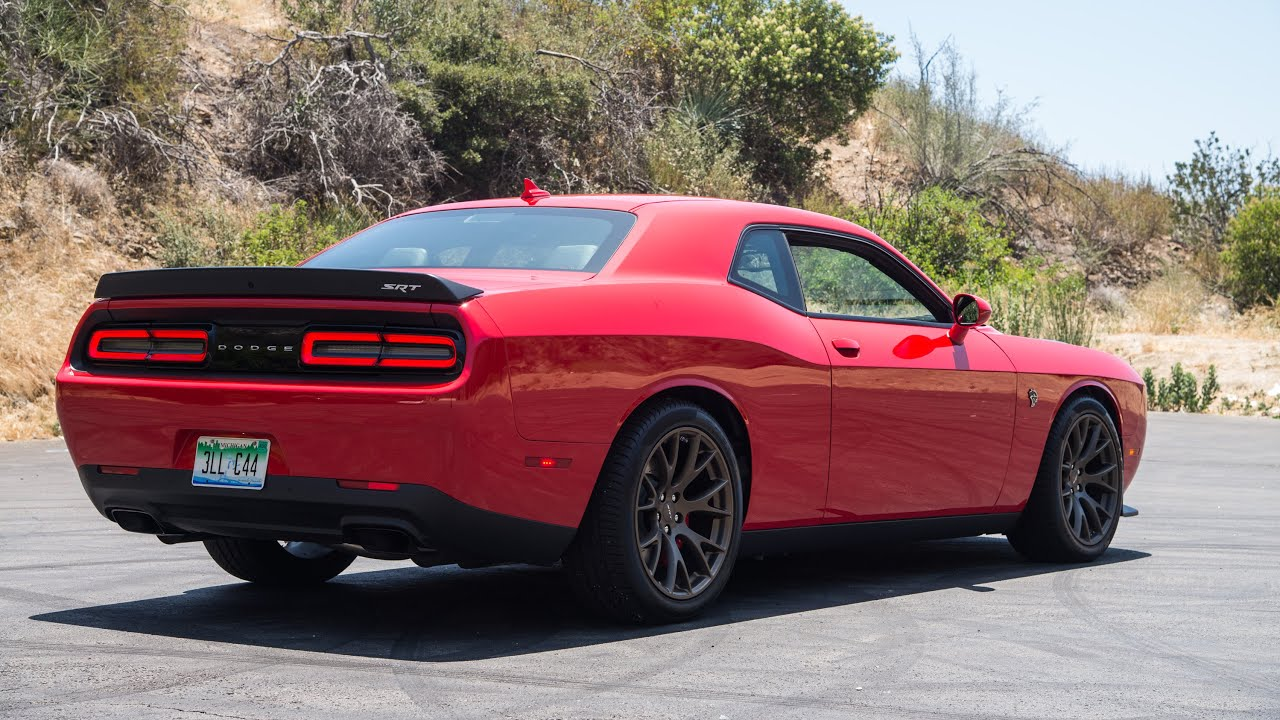 2015 Dodge Challenger Srt Hellcat Wr Tv Sights Sounds Youtube