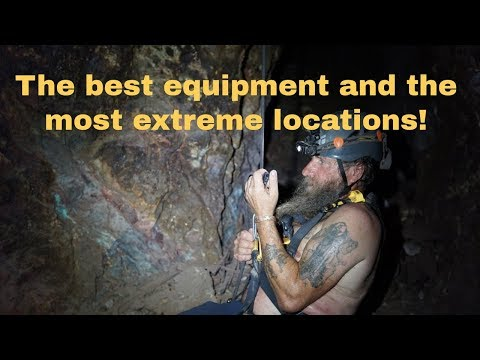 #193 New equipment for extreme mine explorations!