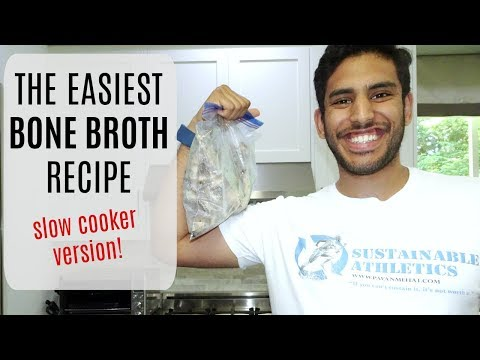 How to Make Bone Broth in a Slow Cooker (Recipe)