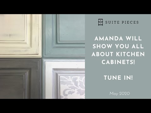 Facebook LIVE! Replay! All About Kitchen Cabinets With General Finishes Milk Paint!