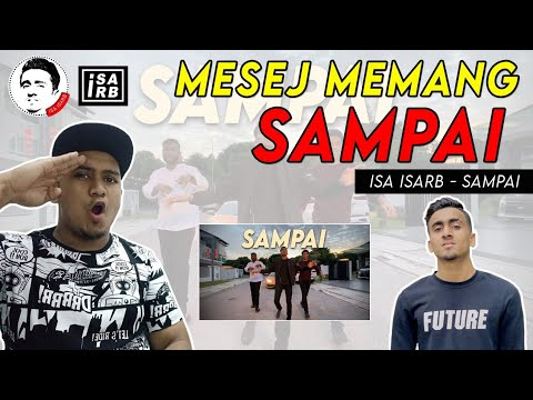 isa-isarb---sampai-//-official-music-video-(malaysia-reaction)