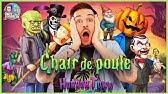 Presentation Livres Chair De Poule Arthur Vallat Youtube