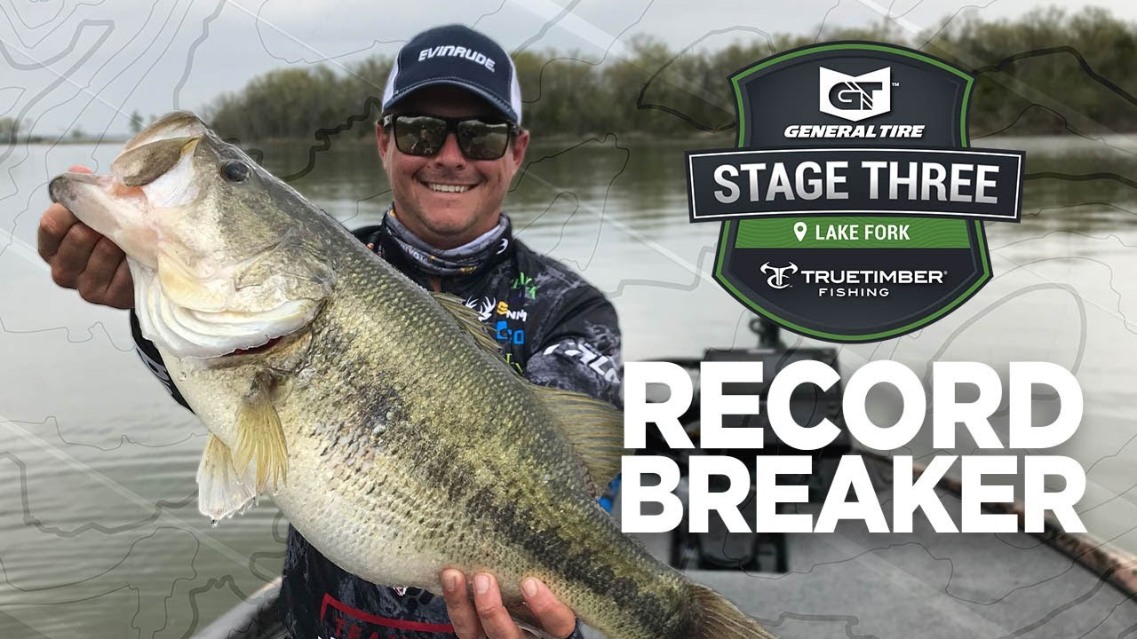 Record Breaker Justin Atkins 10 Pound 8 Ounce Bass Stage Three Lake Fork Youtube