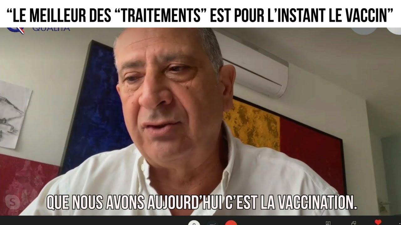 """""""Le meilleur des """"traitements"""" est pour l'instant le vaccin""""- L'invité du 15 février"""