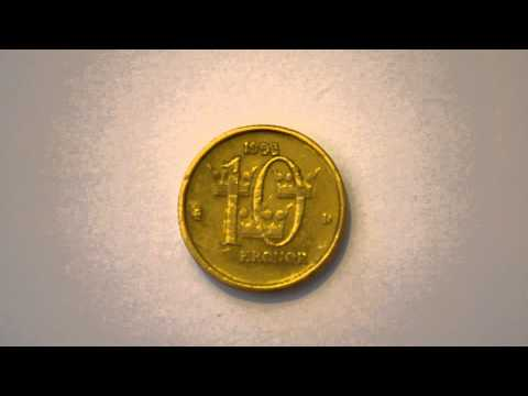Ten Swedish Krona 1993 metal
