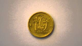 Ten Swedish Krona 1993 metal
