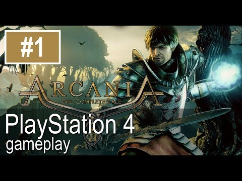 Arcania PS4 Open Gameplay Pt1