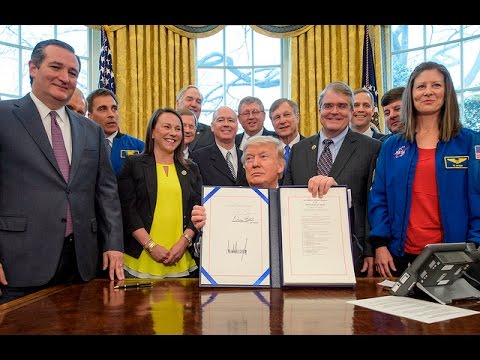 NASA Highlighted in President's Weekly Address